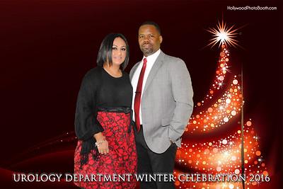 Urology Department Winter Celebration 2016