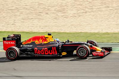 Daniel Ricciardo, number 3, 2016 Australian F1 Grand Prix