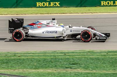 Felipe Massa, number 19, 2016 Australian F1 Grand Prix