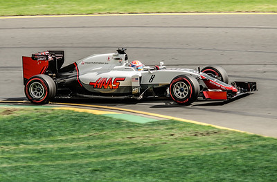 Romain Grosjean, number 8, 2016 Australian F1 Grand Prix