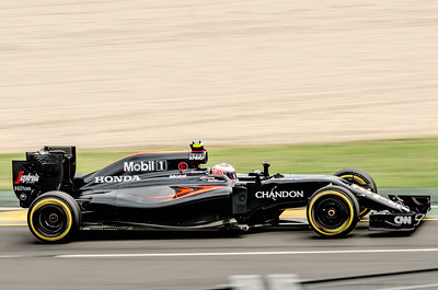Jenson Button, Nuber 22, 2016 Australian F1 Grand Prix