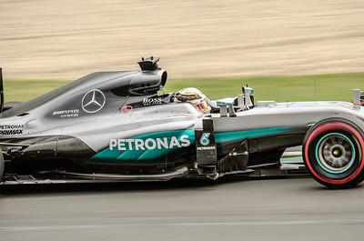 Nico Rosberg, number 6,