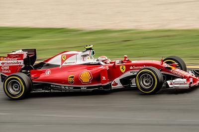 Kimi Raikkonen, number 7, 2016 Australian F1 Grand Prix
