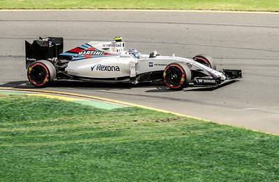 Valtteri Bottas, number 77, 2016 Australian F1 Grand Prix