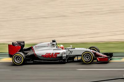 Esteban Gutierrez, number 21, 2016 Australian F1 Grand Prix