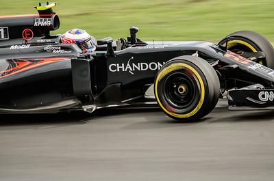 Jenson button, number 22, 2016 Australian F1 Grand Prix