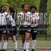 USA teen girls playing sports with protective mouth pieces,