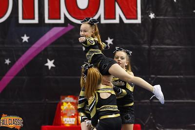 Cheetahs Cheerleading Cerise - Small Youth 1