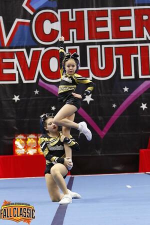 Cheetahs Cheerleading Cobalt - Small Junior 1