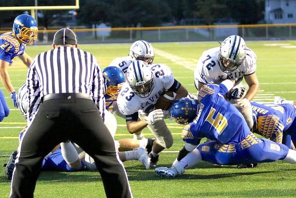 Benton Community vs. Xavier Football 9/9/16