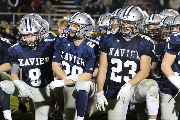 State Quarter Final  Football:  Xavier vs. Waverly-Shellrock -Post Game Photos 11/4/16