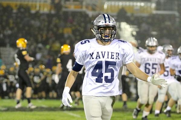 Waverly -Shellrock vs. Xavier Football  10/7/16