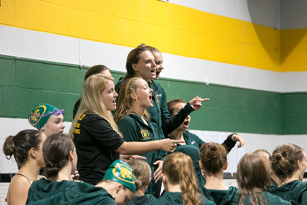 Kennedy vs Iowa City West Swimming 9-13-16