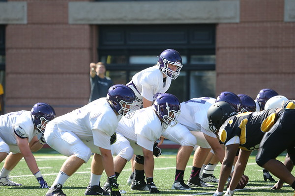 Football: Gonzaga scrimmage vs St. Frances