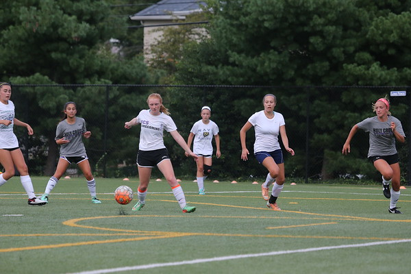 Girls Soccer: Cathedral Scrimmage
