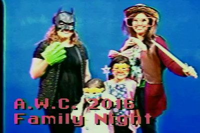 2016 Family Night AWC - Star In Your Own Music Videos