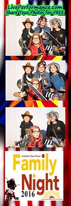 2016 Family Night AZ Western College - EYE Photo Booth Photo Strips