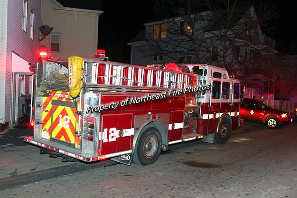 Providence- 2nd Alarm- Linwood Street- 1/13/16