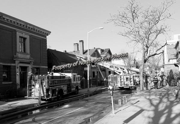 Providence- 3rd Alarm- Angell Street- 4/14/16