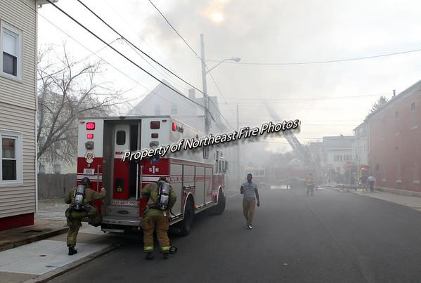 Providence- 4th Alarm- Laurel Hill Avenue-3/31/16