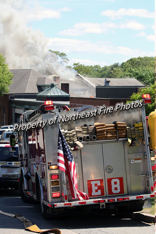 Providence-4th Alarm, Roger Williams Carriage House-6/13/16