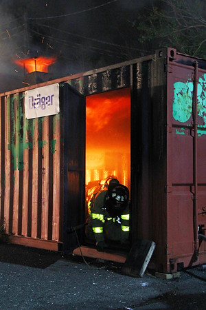 Allendale (Flashover Training)  5-5-16