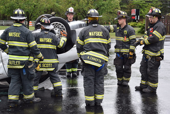 Wayside Fire Company Extrication Drill 5-22-16