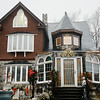 A home on Burnap Street which will be featured in the Fitchburg Historical Society Annual Holiday House Tours on Saturday, December 3, 2016 from 11 am to 4 pm. SENTINEL & ENTERPRISE / Ashley Green