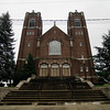 Fitchburg Historical Society's  Annual Holiday House Tours will be held on Saturday, December 3, 2016 from 11 am to 4 pm. Pictured is St. Francis Church on Sheridan St. SENTINEL & ENTERPRISE / Ashley Green