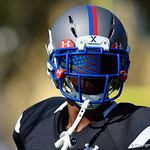Christopher Columbus HS cornerback Christopher Henderson and some of the nations best high school football players practice and run drills during the first day of practice for the 2016 Under Armour All-America High School Football Game at the ESPN Wide World of Sports in Orlando, Florida  December 38th, 2016. Gator Country photo by David Bowie.