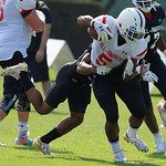 Some of the nations best high school football players practice and run drills during the first day of practice for the 2016 Under Armour All-America High School Football Game at the ESPN Wide World of Sports in Orlando, Florida  December 38th, 2016. Gator Country photo by David Bowie.