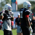 Team Highlight linebacker Ellis Brooks and Some of the nations best high school football players practice and run drills during the first day of practice for the 2016 Under Armour All-America High School Football Game at the ESPN Wide World of Sports in Orlando, Florida  December 38th, 2016. Gator Country photo by David Bowie.