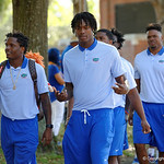 Florida Gators wide receiver Antonio Callaway as the Gators walk into and across Steve Suprrier Field at  Ben Hill Griffin Stadium during Gator Walk as they prepare for the 2017 Orange and Blue Debut.  November 12th, 2016.  Gator Country photo by David Bowie.
