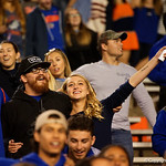 Florida Gators fans cheer on as the Gators conclude their 2017 spring practices with the 2017 Orange and Blue Debut.  April 7th, 2017.  Gator Country photo by David Bowie.