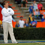 Florida Gators Head Coach Jim McElwain as the Gators conclude their 2017 spring practices with the 2017 Orange and Blue Debut.  April 7th, 2017.  Gator Country photo by David Bowie.