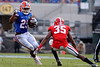 University of Florida Gators Football Gator Walk Georgia Bulldogs EverBank Field