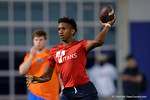 2018 quarterback Michael Penix at the 7 on 7 tournament Friday night.  June 3rd, 2016. Gator Country photo by David Bowie.