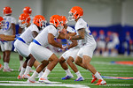 Florida Gators defensive back Teez Tabor and Florida Gators defensive back Quincy Wilson as the Gators run through practice drills finishing up their first week of fall practice.  August 5th, 2016.  Gator Country photo by David Bowie.