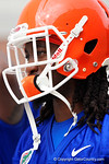 Florida Gators wide receiver Dre Massey as the Gators march into the Gators indoor practice facility to start fall practice.  August 5th, 2016.  Gator Country photo by David Bowie.