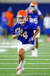 Florida Gators wide receiver Tucker Nordman as the Gators run through practice drills finishing up their first week of fall practice.  August 5th, 2016.  Gator Country photo by David Bowie.