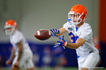 Florida Gators defensive back Nick Oelrich as the Gators run through practice drills finishing up their first week of fall practice.  August 5th, 2016.  Gator Country photo by David Bowie.
