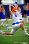 Florida Gators defensive lineman Tanner Rowell as the Gators run through practice drills finishing up their first week of fall practice.  August 5th, 2016.  Gator Country photo by David Bowie.