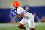Florida Gators defensive back Quincy Lenton as the Gators run through practice drills finishing up their first week of fall practice.  August 5th, 2016.  Gator Country photo by David Bowie.