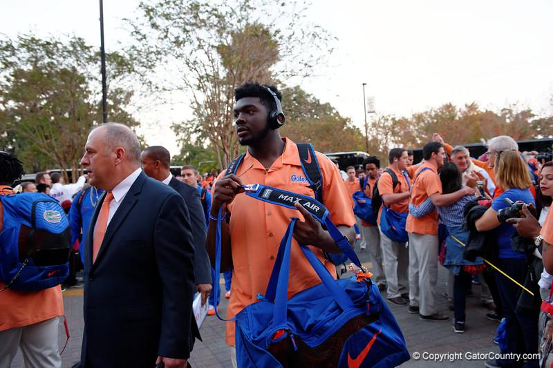 University of Florida Gators Football Gator Walk South Carolina Gamecocks 2016