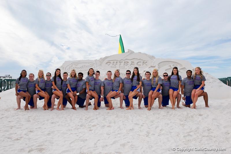 Florida Gators Outback Bowl 2016 Beach Day