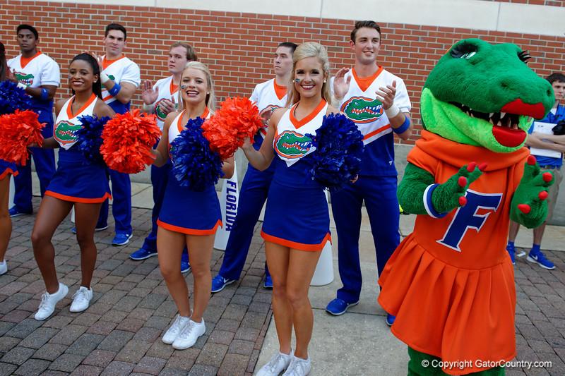 University of Florida Gators Football Gator Walk 2016 UMASS