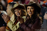 Florida State Seminoiles fan Jenn Sterger cheers on as the Gators go into Doak Campbell Stadium and lose to the Florida State Seminoles 31-13.  November 26th, 2016.  Gator Country photo by David Bowie.