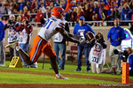 Florida Gators wide receiver Antonio Callaway has a sure touchdown fall off his fingertips as the Gators go into Doak Campbell Stadium and lose to the Florida State Seminoles 31-13.  November 26th, 2016.  Gator Country photo by David Bowie.