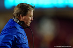 Florida Gators Head Coach Jim McElwain as the Gators go into Doak Campbell Stadium and lose to the Florida State Seminoles 31-13.  November 26th, 2016.  Gator Country photo by David Bowie.
