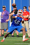Florida Gators wide receiver Isaac O'Neal with a catch as the University of Florida Gators football team continues the first week of 2016 spring practices.  March 11th, 2016. Gator Country photo by David Bowie.